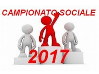 CAMPIONATO SOCIALE 2017 : CLASSIFICHE FINALI